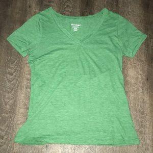 Green V neck